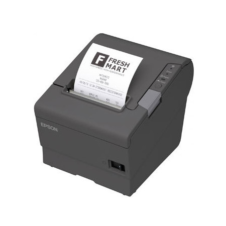 Imprimanta termica Epson TM-T88V neagra, interfata USB si serial - Second Hand