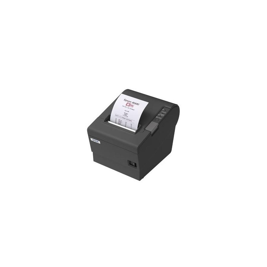 Imprimanta termica SH Epson TM-T88IV neagra, interfata USB si serial